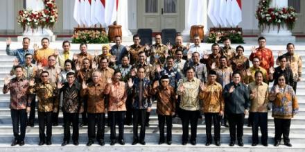 Menteri Kabinet Indonesia Maju Jokowi
